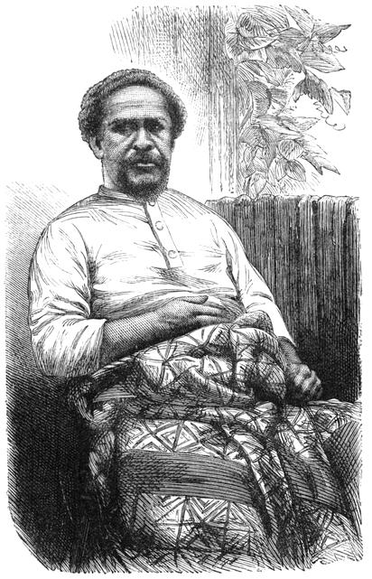 Daniel Afu of Tonga portrait